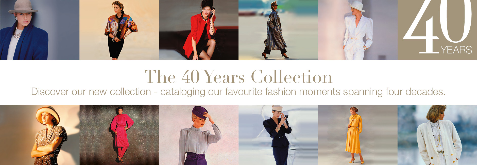 40 years of fashion