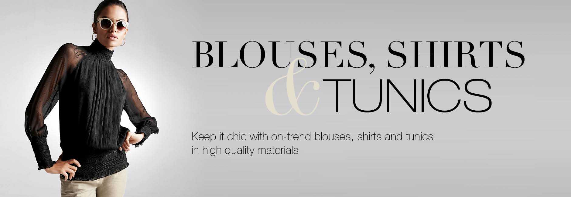 Shop blouses and tunics