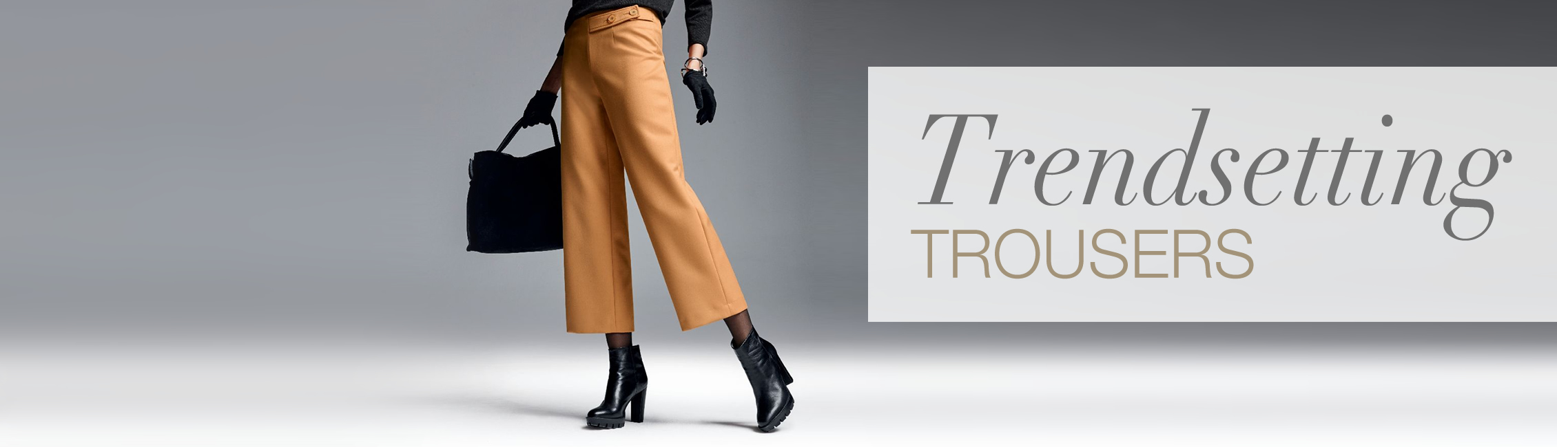 Trendsetting trousers
