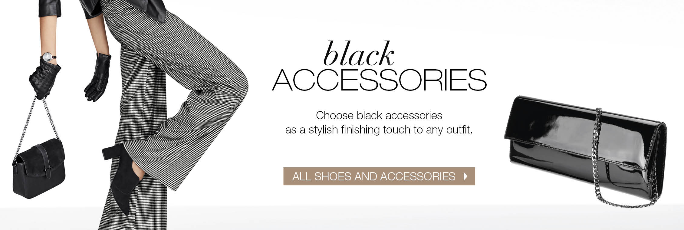 Shop black shoes and accessories